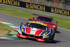 MUGELLO, IT, November, 2015:unknown run with Ferrari 488 Turbo Stock Photography