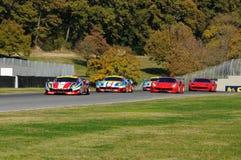 MUGELLO, IT, November, 2015:unknown run with Ferrari 488 Turbo Royalty Free Stock Photo