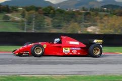 MUGELLO, IT, November, 2007: unknown run with Historic Ferrari F1 412 T2 ex Gherard Berger during Finali Mondiali Ferrari 2007 int. O the mugello circuit in Stock Image