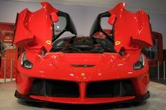 MUGELLO, service informatique, novembre 2013 : La Ferrari de Ferrari au circuit de Mugello en Italie pendant le Finali Mondiali F Photo libre de droits
