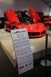 MUGELLO, service informatique, novembre 2013 : La Ferrari de Ferrari au circuit de Mugello en Italie pendant le Finali Mondiali F Images libres de droits