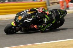 MUGELLO-STRÖMKRETS - JULI 13: Andrea Dovizioso av det monsterYamaha laget som springer på Qualify perioden av den MotoGP granda p royaltyfri fotografi