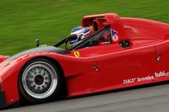 MUGELLO, a TI, em novembro de 2013, desconhecido correm com ferrari 333SP no circuito de Mugello durante Finali Mondiali Ferrari  Fotografia de Stock Royalty Free