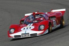MUGELLO, a TI, em novembro de 2007, desconhecido correm com 1970 protótipo histórico Ferrari 512S no circuito de Mugello durante  Foto de Stock Royalty Free