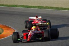 MUGELLO, a TI, em novembro de 2007: O desconhecido corre com Ferrari histórico 643 F1-91 1991 Alain Prost ex durante Finali Mondi Fotografia de Stock