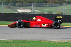MUGELLO, a TI, em novembro de 2007: O desconhecido corre com Ferrari histórico 643 F1-91 1991 Alain Prost ex durante Finali Mondi Foto de Stock