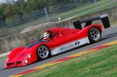 MUGELLO, a TI, em novembro de 2007: O desconhecido corre com protótipo histórico Ferrari 333SP durante Finali Mondiali Ferrari 20 Foto de Stock Royalty Free