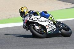 Mugello, WŁOCHY -, CZERWIEC 3: Czecha Ducati Aspar jeździec Karel Abraham przy 2017 OAKLEY GP Włochy Mugello Obraz Stock