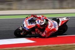 MUGELLO - WŁOCHY, CZERWIEC 3: Hiszpańszczyzny Ducati jeździec Jorge Lorenzo przy 2017 OAKLEY MotoGP GP Włochy zdjęcia stock