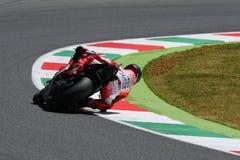 MUGELLO - WŁOCHY, CZERWIEC 3: Hiszpańszczyzny Ducati jeździec Jorge Lorenzo przy 2017 OAKLEY MotoGP GP Włochy zdjęcie stock