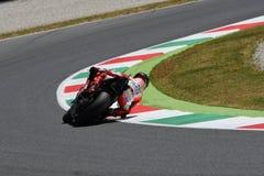 MUGELLO - WŁOCHY, CZERWIEC 3: Hiszpańszczyzny Ducati jeździec Jorge Lorenzo przy 2017 OAKLEY MotoGP GP Włochy przy Mugello obwode zdjęcie stock