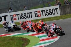 Mugello, Włochy -, MAJ 21: Brytyjski Ducati jeździec Scott Redding przy 2016 GP MotoGP Włochy przy Mugello obwodem Obraz Stock