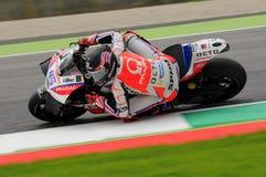 Mugello, Włochy -, MAJ 21: Brytyjski Ducati jeździec Scott Redding przy 2016 GP MotoGP Włochy przy Mugello obwodem Obrazy Royalty Free