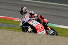 Mugello, Włochy -, MAJ 21: Brytyjski Ducati jeździec Scott Redding przy 2016 GP MotoGP Włochy przy Mugello obwodem Obrazy Stock