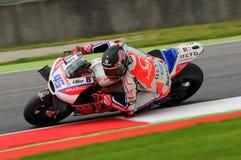 Mugello, Włochy -, MAJ 21: Brytyjski Ducati jeździec Scott Redding przy 2016 GP MotoGP Włochy przy Mugello obwodem Zdjęcia Stock