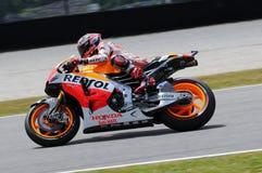 Mugello, Włochy -, Maj 29: jeźdzowie Marc Marquez podczas praktyki sesi przy 2014 TIM MotoGP GP Włochy na Maju 29, 2014 Obraz Stock