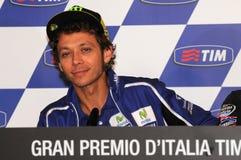 Mugello, Włochy -, Maj 29: Włoski jeździec Valentino Rossi podczas konferenci prasowej przy 2014 TIM MotoGP GP Włochy na Maju 29, Obraz Stock