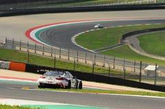 Mugellokring, Italië 6 Oct, 2017 BMW M6 GT3 van het Team van BMW Italië, door A wordt gedreven die Cerqui en S Comandini stock afbeeldingen