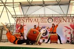 Mugenkyo Taiko Drummers Royalty Free Stock Photos