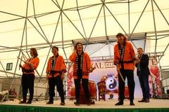 Mugenkyo taiko drummers Stock Photo