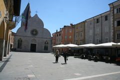 Muggia_centre Stock Photography