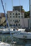 Muggia-Hafen Stockfotografie