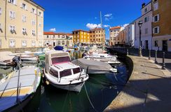 Muggia harbour Stock Photo
