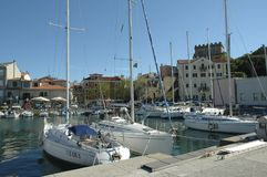 Muggia Harbour royalty free stock images