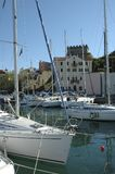 Muggia Harbour royalty free stock photo