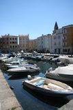Muggia port_ ships Royalty Free Stock Photos