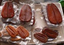 Muggini secche uovo di pesce dei pesci Fotografia Stock Libera da Diritti