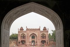 Mughal Architecture Stock Image