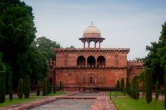 Mughal architektury bramy w Taj Mahal kompleksie Obraz Royalty Free