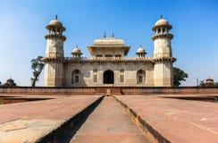 Mughal arkitektur av den Agra staden, Indien Fotografering för Bildbyråer