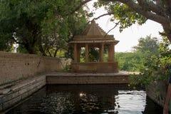 Mughal garden at delhi Royalty Free Stock Photo