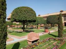 Mughal garden. Indian Parliament garden Delhi Stock Photos