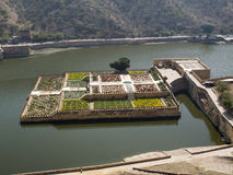 Mughal gardens Royalty Free Stock Image