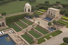 Mughal Landscaped Garden Stock Photo