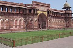 Mughal Palace Royalty Free Stock Photography