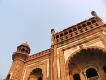 Mughal tomb India. Exterior architecture of Mughal tomb, India Royalty Free Stock Photos