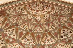 Mughal verzierte Bogen Lizenzfreie Stockfotografie