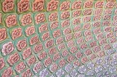 Mughal wall paintings at Jaipur city palace Royalty Free Stock Photography