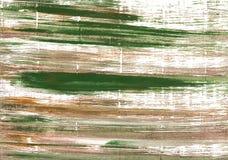 Mughal zieleni akwareli abstrakcjonistyczny tło Obrazy Stock