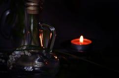 Mughetto dell'olio del profumo Fotografia Stock