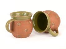 mugs чай Стоковые Фотографии RF