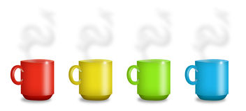 Mugs Stock Photography