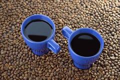 Mugs with coffee Royalty Free Stock Photo
