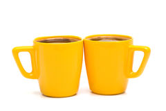Mugs of coffee Royalty Free Stock Image