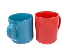 Mugs for coffee or tea Royalty Free Stock Photography