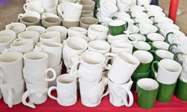 Mugs cup for sale Stock Image